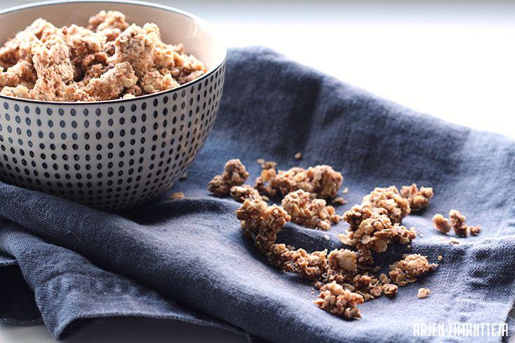 Arjen timantteja: Rapeaa granolaa