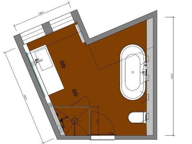 die besten 17 ideen zu badezimmer mit schr ge auf. Black Bedroom Furniture Sets. Home Design Ideas
