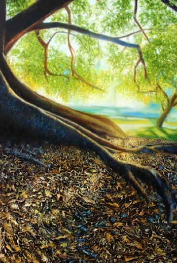 'Within Reach' by Lars Vester. 2012 oil on canvas 50x76cm
