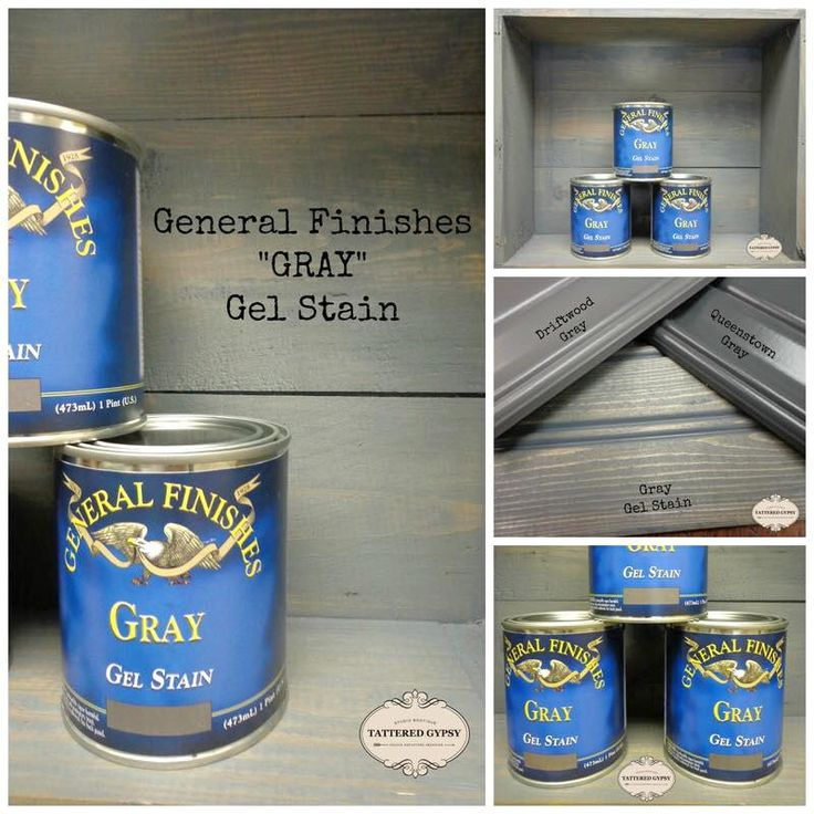Gray gel stain general finishes design center for Gel stain