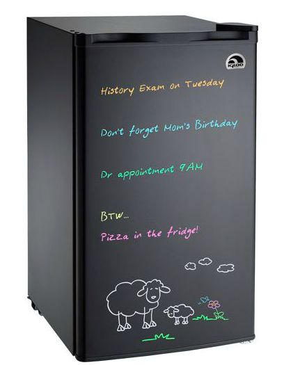 Mini Eraser Board Refrigerator – for college dorms – $89 from $129 shipped