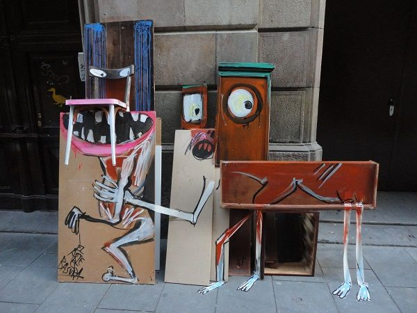 Best Pics I Like Images On Pinterest Chris Delia - Street artist turns street furniture into characters