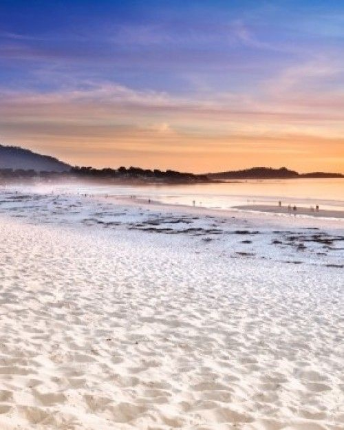 Carmel Beach is one of California's most cherished — and within walking distance of the hotel. #Jetsetter  #SecretSanta