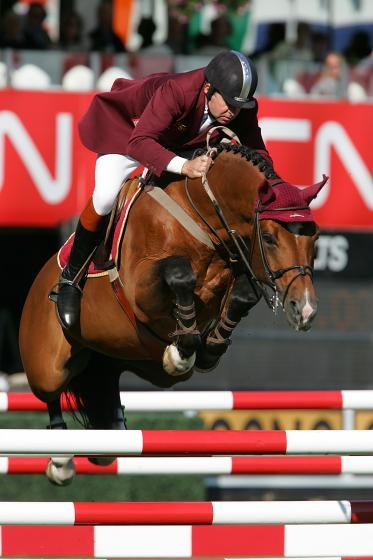 Arko III and Nick Skelton- if I ever choose to breed my horse again, Arko would be the stud! God he's fantastic!