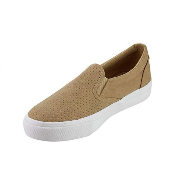 da360ef5529 Solid Color Hollow Casual Flat Shoes in 2019 | Shoes to buy- UK ...