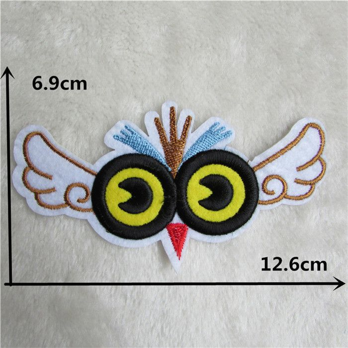 15 kind select eyes patch hot melt adhesive applique embroidery patch DIY clothing accessory 1pcs sell C260-C2011