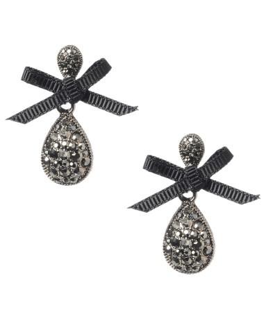Bow teardrop earrings: Glits Wear, Bow Teardrop, Teardrop Earrings, Bl Ηg Bl Ηg, Betsey Johnson