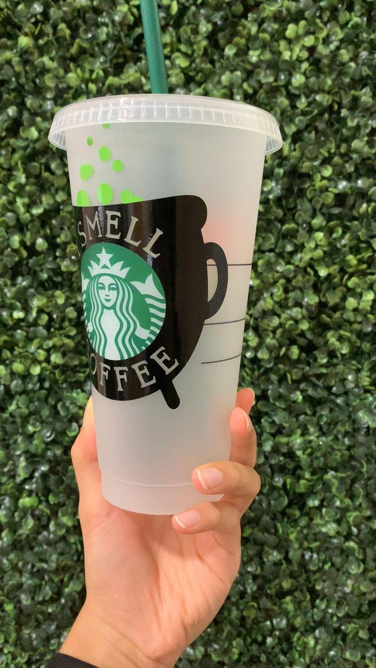 Halloween Starbucks Cold Cup Hocus Pocus Inspired