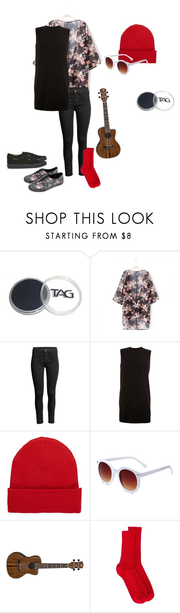 """Tyler Joseph - Kimono Outfit"" by twenty-one-pilots-outfits ❤ liked on Polyvore featuring Vans, DRKSHDW, rag & bone, Isabel Marant, grunge, twentyonepilots and tylerjoseph"