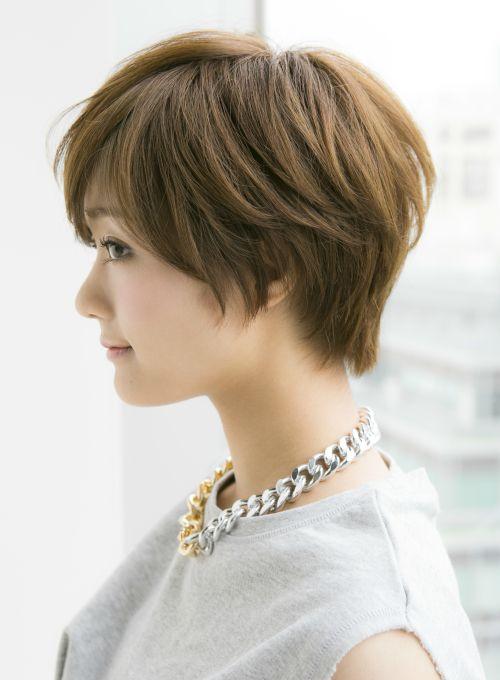 【ショートヘア】大人に似合う耳かけショートスタイル/Ramieの髪型・ヘアスタイル・ヘアカタログ 2016春夏