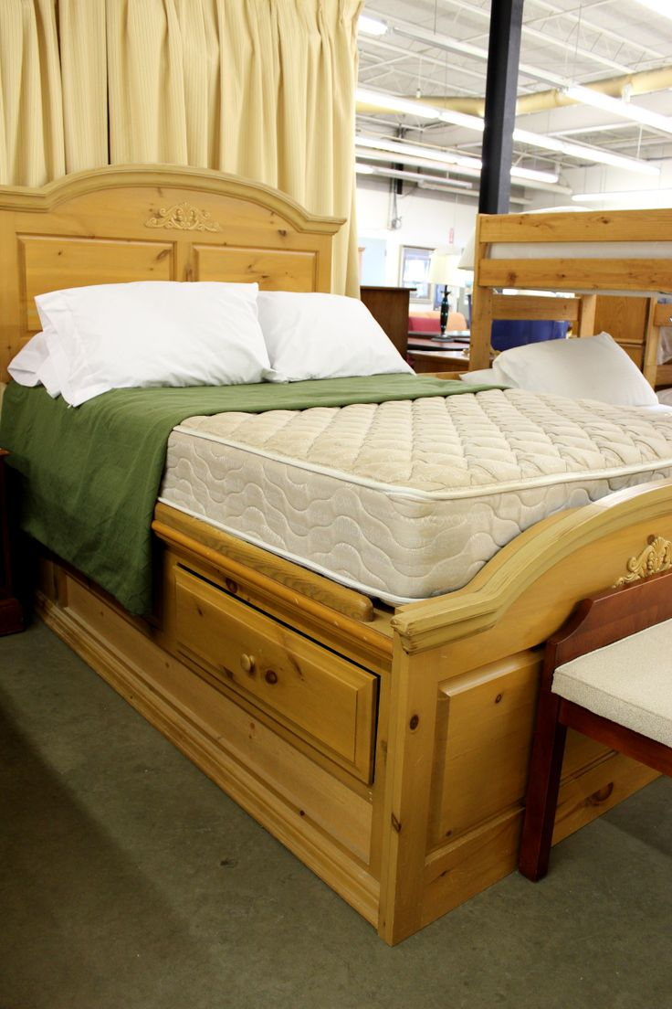 knotty pine full captains bed now 249 knotty pine collection