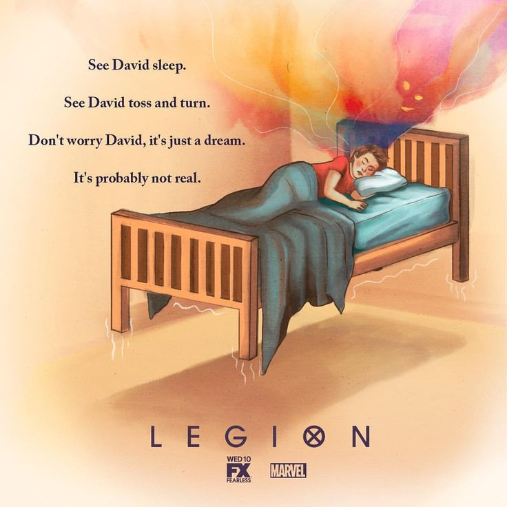 "2,552 Likes, 25 Comments - Legion (@legion_fx) on Instagram: ""What is life but a dream, anyway? #LegionFX"""