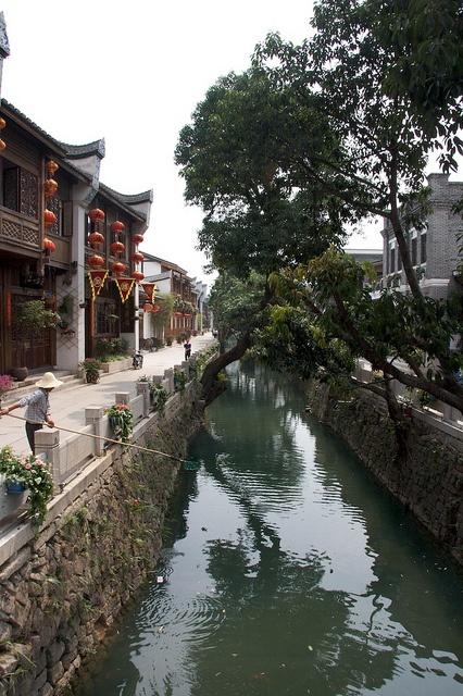 Fuzhou's Perimeter Moat