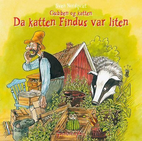"""Vår pris 69,-. I denne historien får du høre om den gangen Gubben Pettersen får en pappeske som det står """"Findus grønne erter"""" på. I esken er det en liten kattunge, og.."""