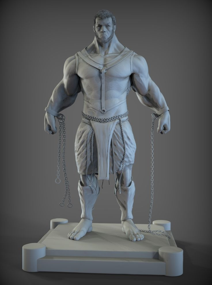 Final Model/Sculpt _ Prometheus Zbrush _ XSI