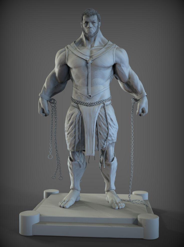 Final Model/Sculpt _ Prometheus Zbrush _ XSI