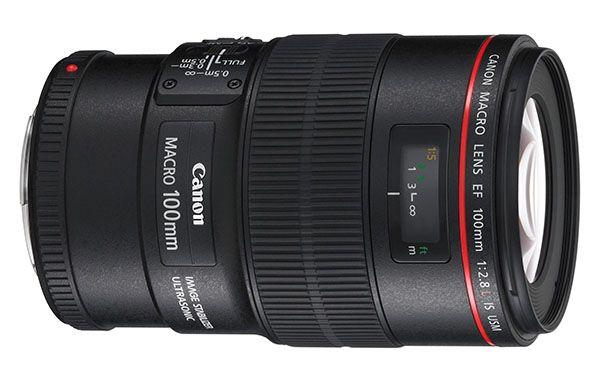 lente canon macro 100mm