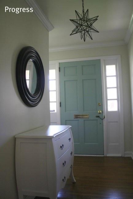 Inside front door colour