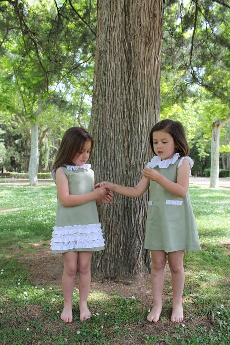 Green dresses for girls from 18m to 8 years old http://mimalo.net/shop/
