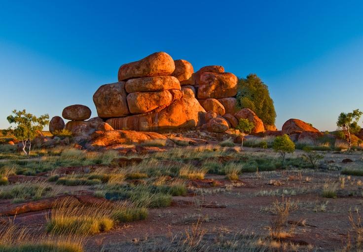Devils Marbles - Tennant Creek, Australia.