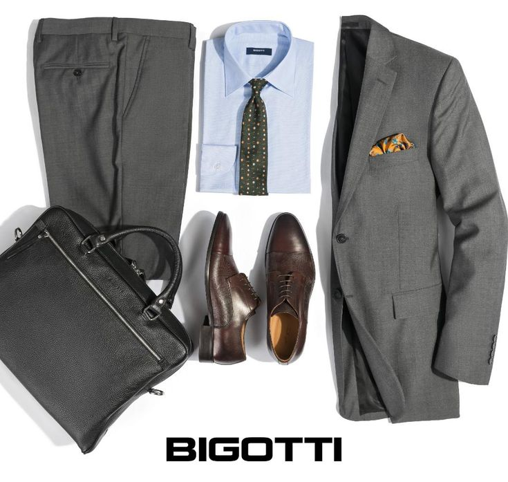 #Equally #versatile as the #navy-#blue, but less #formal than the #black, the #grey #suit is one of the #best #investment #pieces. www.bigotti.ro