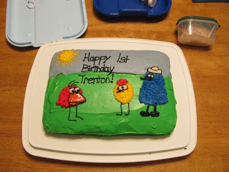 Peep And The Big Wide World Birthday Cake