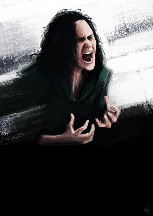 Loki by @hashtag_genius OH FINE JUST DESTROY MY FEELS IT'S OKAY I DIDN'T NEED THEM ANYWAY.