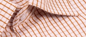 Full sleeve formal shirt in brown checks pattern with front pocket. Designed for an entire day of comfort and style, this shirt is perfect for a thoroughly modern nine-to-five look.     Style with:  Dark brown, beige or black trousers to work.Team with light or dark denims for a casual look.    Visit : www.wardrobeseven.com