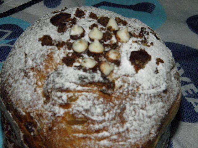 Pan dulce navideño milanés de Choly Berreteaga