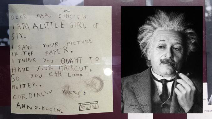Kirje Einsteinille