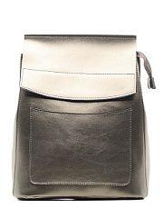 Рюкзак Elite Style  Стильный и современный рюкзак трансформер это отличное решение на каждый день. Такой аксессуар можно использовать в качестве сумки через плечо. Поэтому он отлично сочетается с любым образом который выбирает его обладательница. Чтобы мелкие атрибуты не затерялись в недрах рюкзака в нем имеются карманы открытого и закрытого типа. Закрывается аксессуар на молнию и клапан. Модель пошита из натуральной кожи лямки рюкзака выполнены из кожи на тканевой основе что очень…