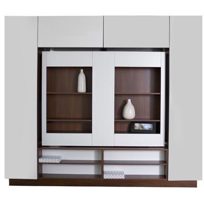 meuble avec rangement pour diviser une pièce