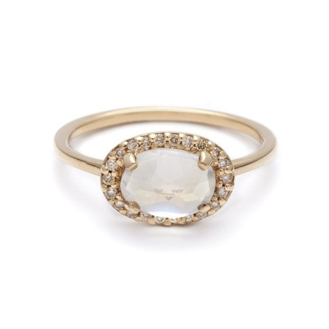 32 Budget-Friendly Engagement Rings Every Frugal Bride Will Love via Brit + Co