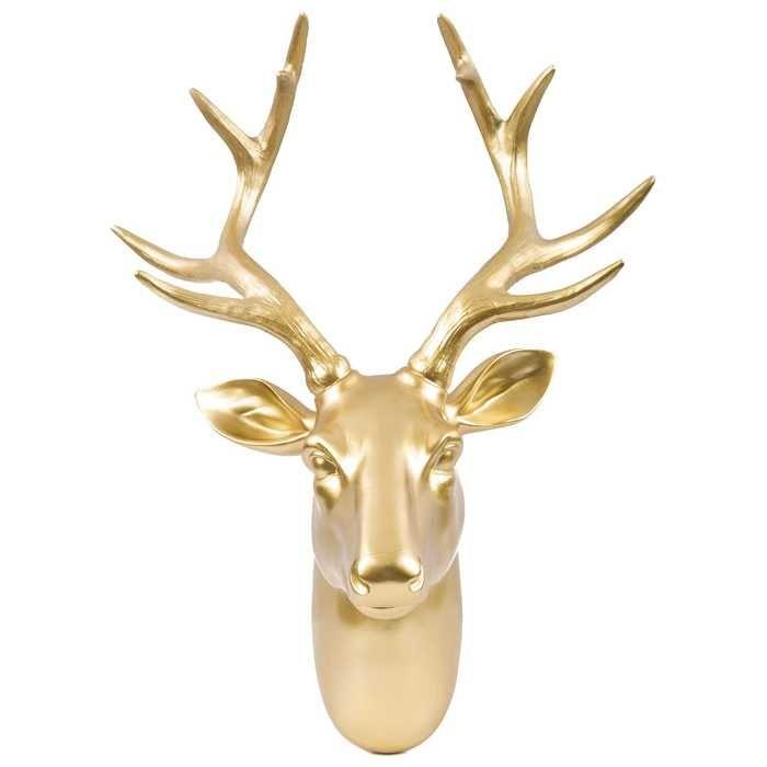 Wall Decoration Deer Head : Best ideas about faux deer head on white