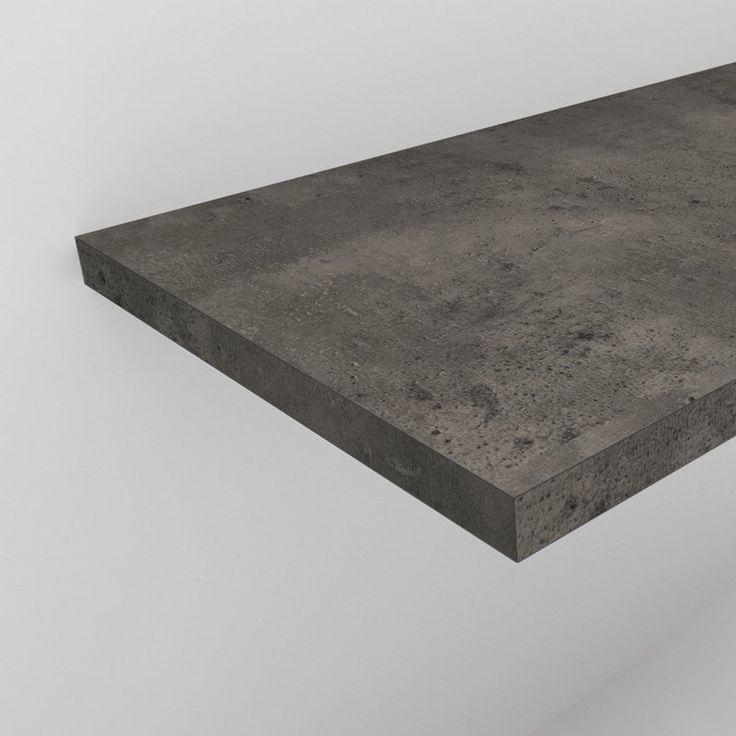Waschtischplatte 4 cm in Betondekor nach Maß