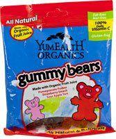 Yummy Earth Organic Gummy Bears -- 5 oz $1.99