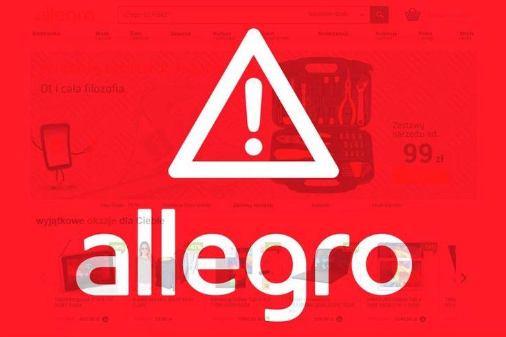 Allegro, największy polski serwis aukcyjny, po raz kolejny padł ofiarą ataku…