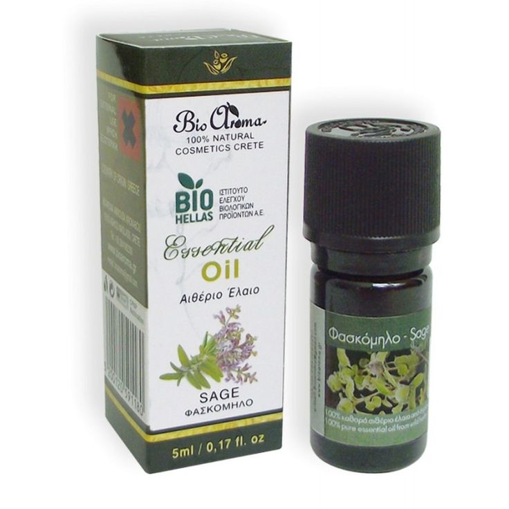 Sage pure Essential oil 5ml. For home aromatherapy.