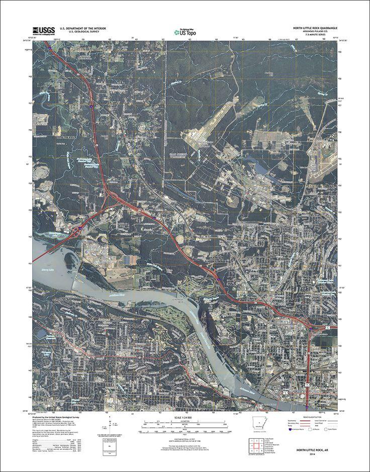 northlittlerockorthojpg 10001277 98 best Cartography images on