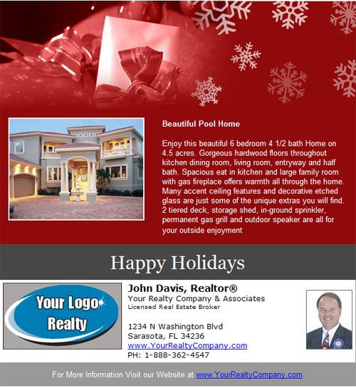 Best New Real Estate Email Flyer Designs Images On
