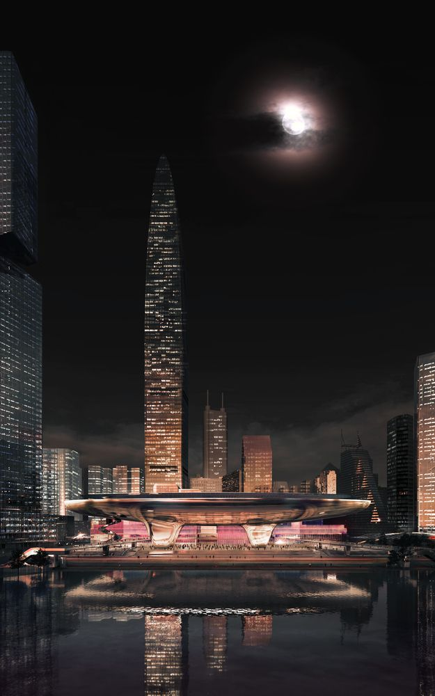 Gallery of PLP Unveils Pearl River Delta's Tallest Building as Part of New Masterplan - 3