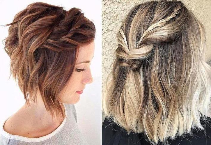 تسريحات شعر قصير ويفي لعروس 2020 بتوقيت بيروت اخبار لبنان و العالم Hair Styles Hair Beauty