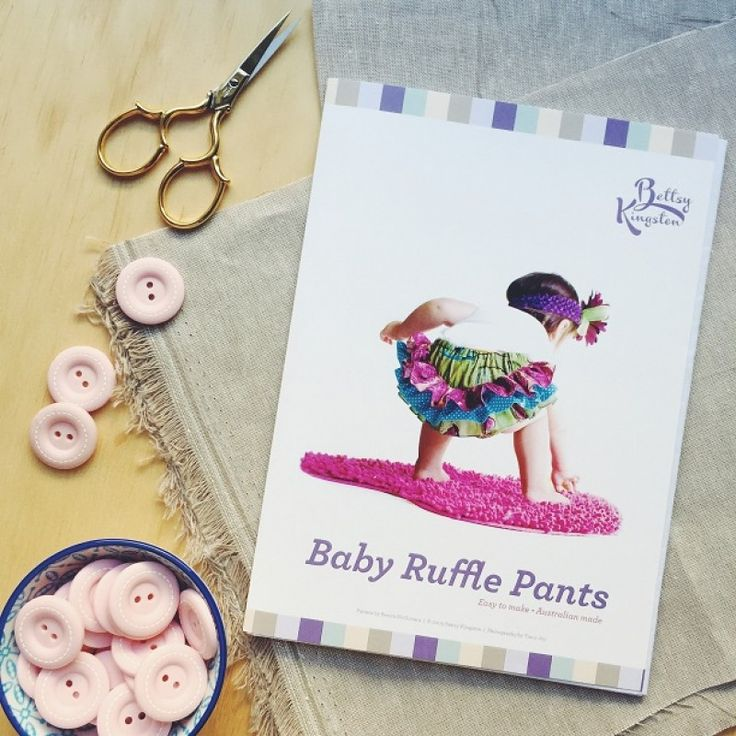 "A great baby-shower or first christmas gift. ""Baby Ruffle Pants"" pattern by Bettsy Kingston"