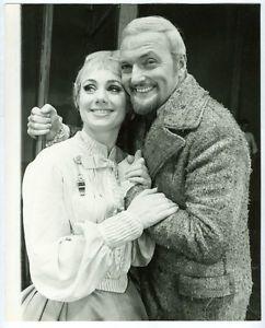 Husband and wife, Shirley Jones and Jack Cassidy
