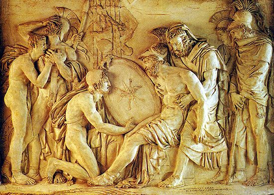 relationship between greek and roman art
