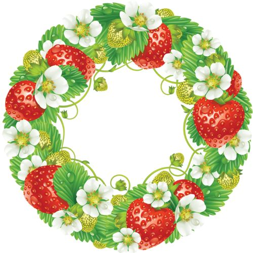 STRAWBERRY WREATH *