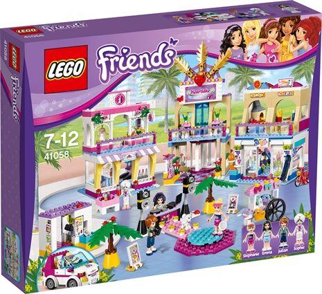 LEGO Friends, Kjøpesenteret i Heartlake fra Lekmer. Om denne nettbutikken: http://nettbutikknytt.no/lekmer/