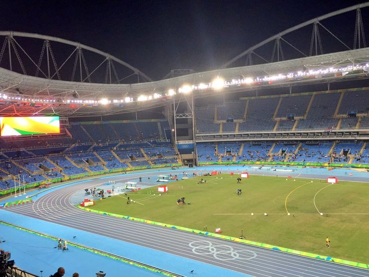 USATF Retweeted  Chris Chavez ‏@ChrisChavezSI  Aug 12 Estádio Olímpico João Havelange (Engenhão) Back at the Olympic Stadium before the first night cap of track and field begins. #Rio2016