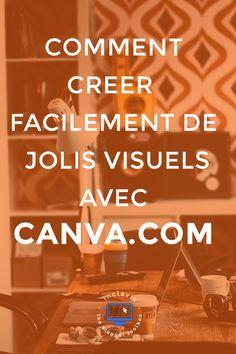Canva.com est un logiciel gratuit qui permet de créer de super beaux visuels pour son site. Et tout cela très facilement. Apprenez en plus en cliquant ici
