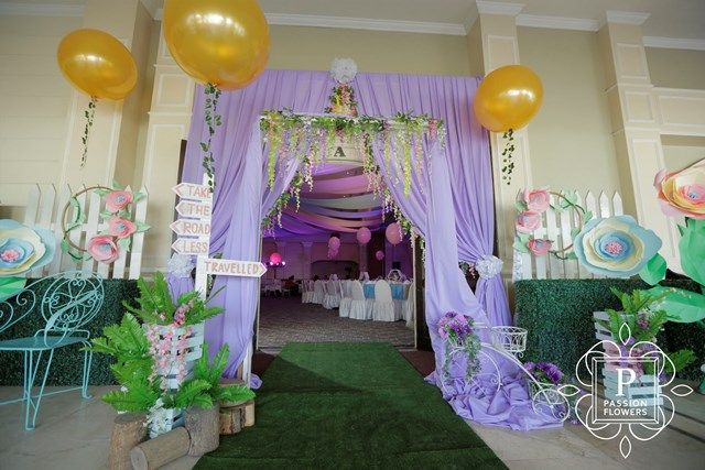 Amara's The Road Less Traveled Nature Inspired Party - Entrance